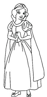 Snow White Queen Coloring Pages At Getdrawingscom Free For