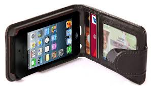 cellsafe leather wallet case for iphone 5 5s not for 5c reduce radiation exposure by 87 6