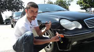 mercedes benz c class w203 side marker install stealth auto tech  at 04 Mercedes Benz Kompressor Sport Foglight Wire Harness
