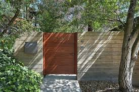 mid century modern fence fence gate mid century modern renovation by architects diy mid century modern fence