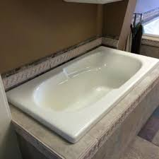 to deep 5 foot bathtub surrounds