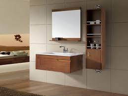 bathroom  intersting floating grey concrete vanity sink plus