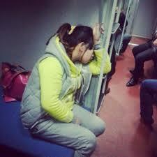 Sleeping Chinese Passengers on Spring Festival Train L199 chinaSMACK