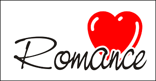 Romance Text with Heart Image