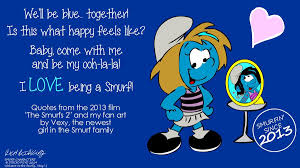 Smurf Quotes Interesting Vexy In Her Own Smurfy Words By NewportMuse On DeviantArt