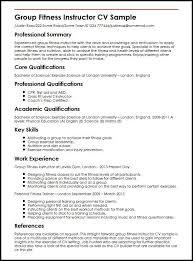Fitness Instructor Resume Inspiration Sample Resume Zumba Instructor Resume Examples Pinterest
