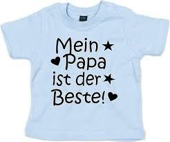 Baby Kinder T Shirt Mit Spruch I Love Papa Ik037 Vatertag Geschenk Baby