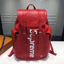 louis vuitton x supreme backpack christophers supreme backpackfashions dose