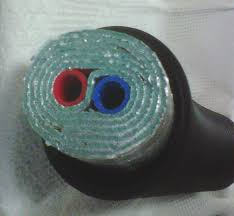 1 Non Barrier Insulated Pex Piping 5 Wrap Red Blue Pipes Ft
