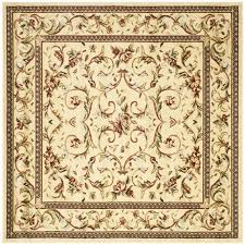 extraordinary design ideas x square area rugs modest safavieh lyndhurst lyon ivoryivory indoor machine decoration awesome rug decor round wool hand