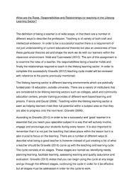 pttls essay on teaching lifelong learning sector by rebekah nard  pttls essay on teaching lifelong learning sector by rebekah nard teaching resources tes