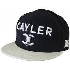 Cayler & Sons Cap No.1 black/cream - günstig online kaufen