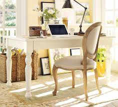 cottage office. Cottage Home Office With Lachman Fixed Dining Table, Beachcomber Oversized Rectangular Basket, Carpet C