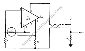 resistance thermometer current loop transmitter simple circuit resistance thermometer current loop transmitter
