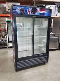 true 2 sliding glass door merchandiser model gdm 45 1 400 00