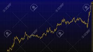 Stock Investment Chart Bar Chart Of Stock Market Investment Trading Stock Exchange