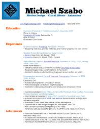 What Should My Resume Look