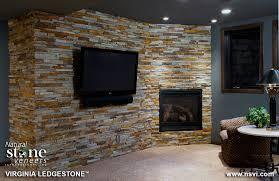 virginia ledgestone fireplace1