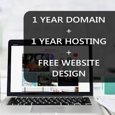 Design Domain Free Free Website Design Plus 1 Year Domain And Hosting For 45