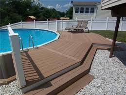 above ground swimming pool deck 14 great above ground swimming pool ideas 7z pools deck