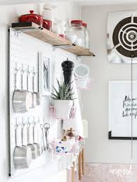 Pegboard Kitchen Home Pegboard Ideas