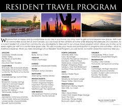the travel program brochure at providence meadows gracious retirement living in charlotte north carolina
