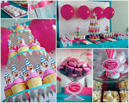Birthdaypartyideas With Balloon And Cupcake  LETu0027s PARTY1st Birthday Party Ideas Diy