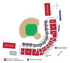 Ohio State University Horseshoe Stadium Seating Chart Seating Charts Ohio State Buckeyes