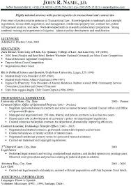 Legal Resume Templates Wonderful Family Law Attorney Resume Sample Family Law Attorney Resume Family