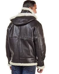 jack shearling er with zip out hood for men