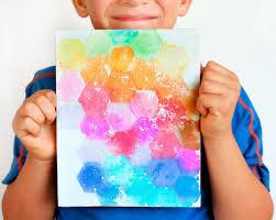 painting canvas ideasCanvas Painting Ideas for Kids Using Tissue Paper  Fiskars