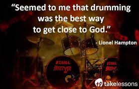 Christian Drummer Quotes Best of 24 Inspiring Quotes From Famous Drummers