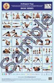 Advanced Yoga Wall Chart Andiappan Yoga Andiappan Yoga