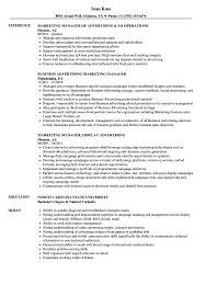 Resume For Advertising Job Advertising Marketing Manager Resume Samples Velvet Jobs 19