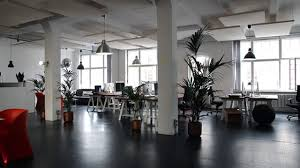 modern office plants. Plants Dotted Around An Open-plan Office Modern