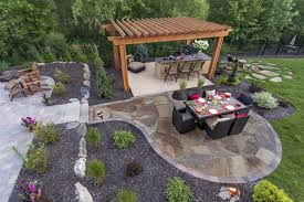 landscape patios. Awesome Backyard Patio Landscaping Design And Construction In Minneapolis Mn Southview Landscape Patios