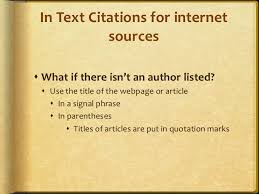 Mla In Text Citation For Website In Text Citation For Website Barca Fontanacountryinn Com
