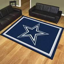 dallas cowboys nfl area rug floor carpet 8 x 10