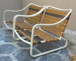 vintage brown jordan patio chairs low