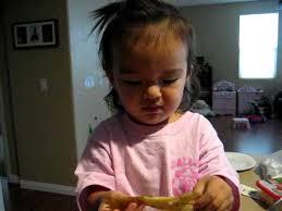 Ava Holt Cracking Herself Up Eating Her Banana - YouTube