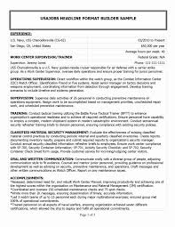 Military To Civilian Resume Examples Fresh Very Attractive Veteran