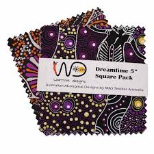 dreamtime square pack five inch purple