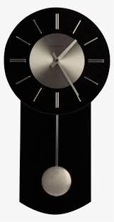 black pendulum wall clocks png image