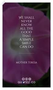 A Simple Smile Life Quote Quotezco