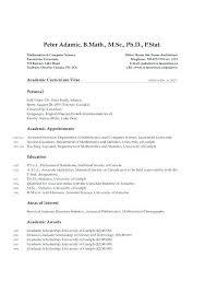 Grad School Resume Template New Graduate School Resume Template Unique Academic Resume Template For