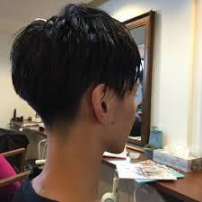 メンズにおすすめのベリーショートの髪型ツーブロックアシメウルフ