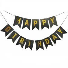2019 Bronzing Letter Happy Birthday Banner Kids Birthday Decoration Baby Shower Balloons Cake Topper Party Supplies From Suozhi1992 37 32