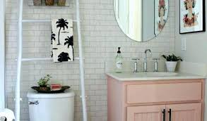Cute Bathroom Decor Pink Bathroom Ideas Domino Pink Bathroom Cute