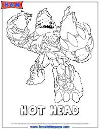 Free Coloring Pages New Trap Team Page Of Skylanders Characters