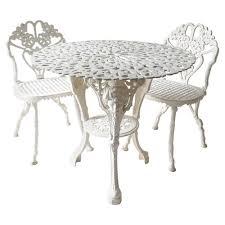 victorian style cast iron garden table